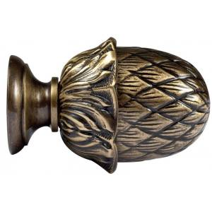Embout Louis XVI - Pomme de Pin - Diam. 20mm