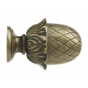 Embout Louis XVI - Pomme de pin - Diam. 28mm