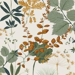 Papier peint Herbario