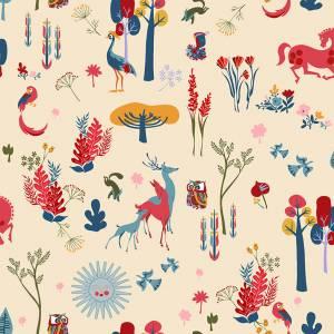 Papier peint El Bosque Animado Vinyle