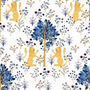 Papier peint Medieval Tapestry Vinyle