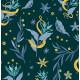 Papier peint Serpientes y Flores Vinyle