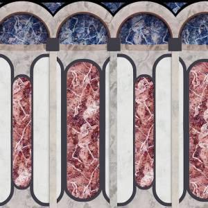 Panoramique Archs vinyle