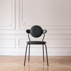 Chaise tapissée Planet