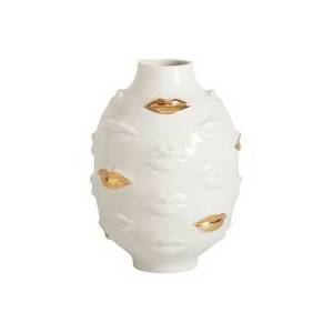 Vase Rond Gala Doré