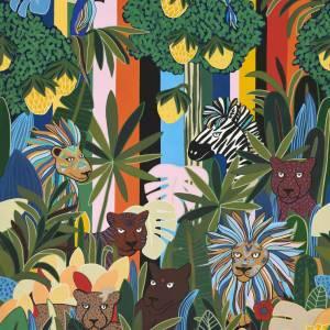 Panoramique Les rois de la Jungle