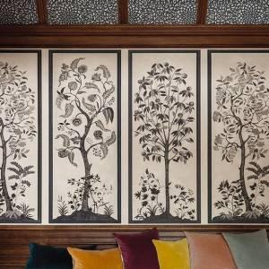 Panneau mural Trees of Eden
