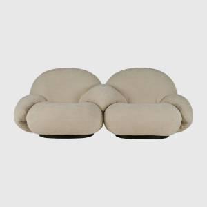 Fauteuil Pacha (2 sièges, avec accoudoirs sur chaque siège)