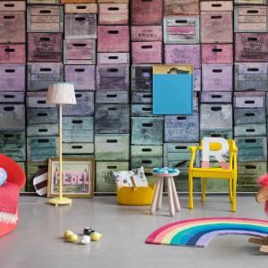 Papier peint Color Boxes