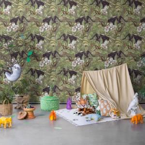 Papier peint Alluring panthers
