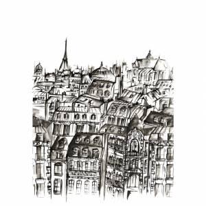 Papier peint Grands Boulevards