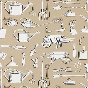 Papier peint Les Outils Du Jardin