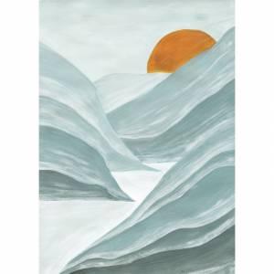 Papier peint panoramique Blue Mountains