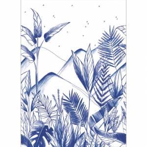 Papier peint panoramique Tropical Night