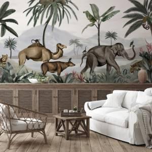 Panoramique Wild India