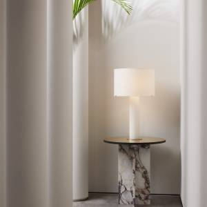 Lampe Imperial Linen Shade