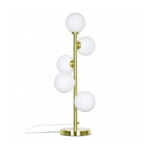 Lampe Cinq Globes Edmond Dorée