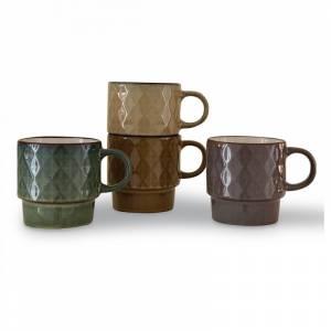 Set de 4 Mugs Fox