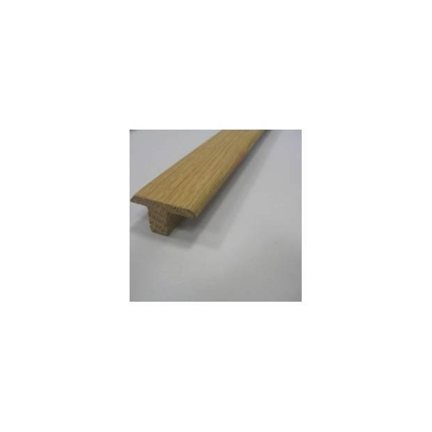 Barre de jonction en chêne massif – 14 x 35 mm pour parquets