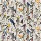 Tissus Birds Sinfonia