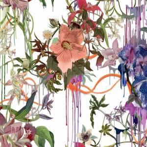 Tissus Orchids Fantasia