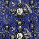 Papier Peint Fontaine Et Animaux Barbouillage