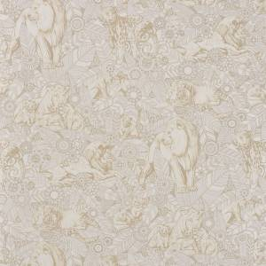 Papier Peint Lions D'Or