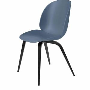 Chaise Beetle Dining Conic Black Wood Base
