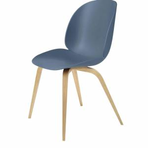 Chaise Beetle Dining Conic Oak Wood Base
