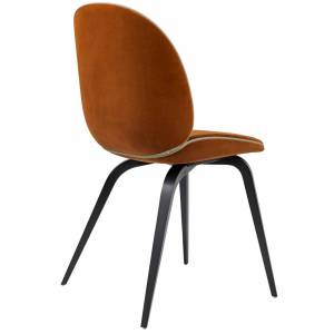 Chaise Beetle Dining Fully Upholstered Wood Base