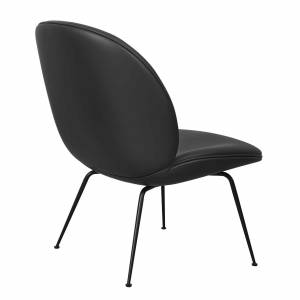 Chaise Beetle Lounge Black Base