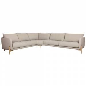 Canapé d'Angle 3 + 2 Places Jenny