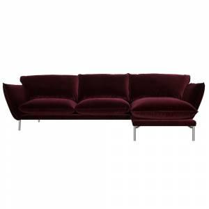 Canapé 3 Places + Chaise Longue Hugo