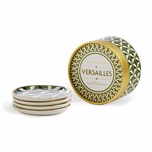 Set De 4 Mini Assiettes Versailles