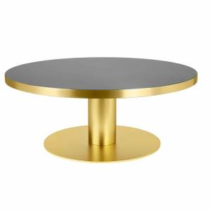 Table Gubi 2.0 Coffee Brass
