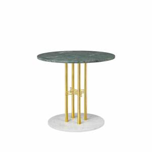 Table Ts Column Dining Brass 80