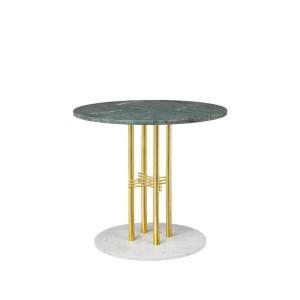 Table Ts Column Dining Brass 80