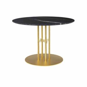Table Ts Column Dining Brass 110