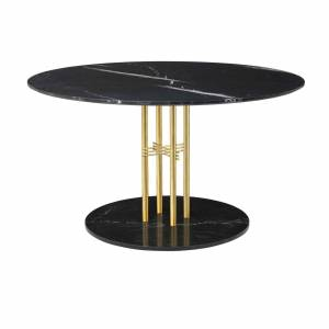 Table Ts Column Dining Brass 130