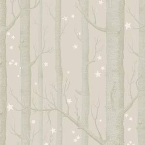 Papier peint Woods & Stars