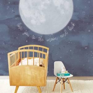 Papier Peint Pleine Lune