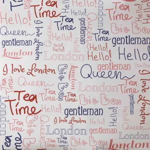 Papier Peint Oh La La Wording London