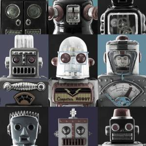Papier Peint Robots!