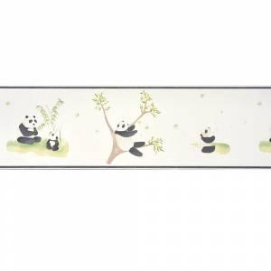 Papier Peint Alice & Paul Panda Frise