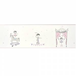 Papier Peint Alice & Paul Cirque Frise