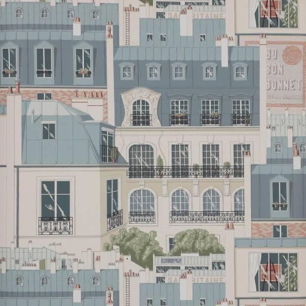 Papier peint Les toits de Paris