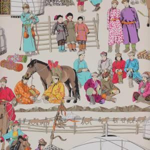 Papier peint Hazara