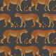 Papier peint Leopard Walk