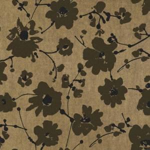 Papier Peint Metal Velvet Flower and Lin