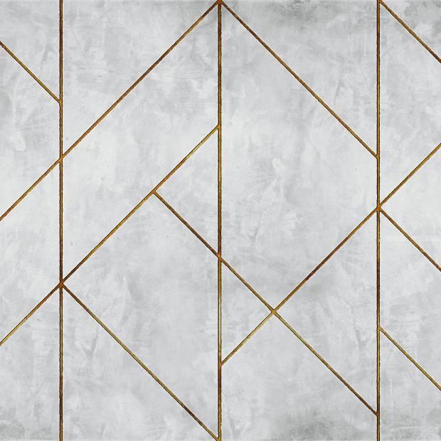 Papier peint Golden Line Wall